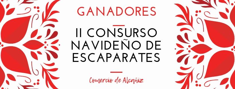 Ganadores II Concurso de escaparates navideños del Comercio de Alcañiz