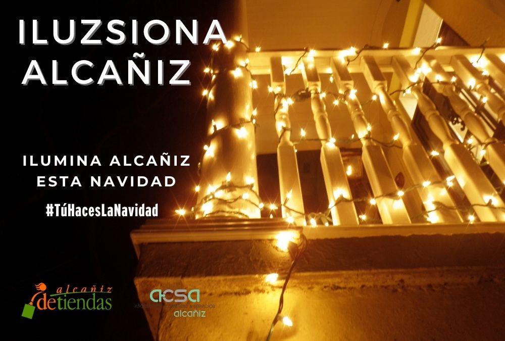 Concurso «Decora tu Balcón-Ilumina Alcañiz»